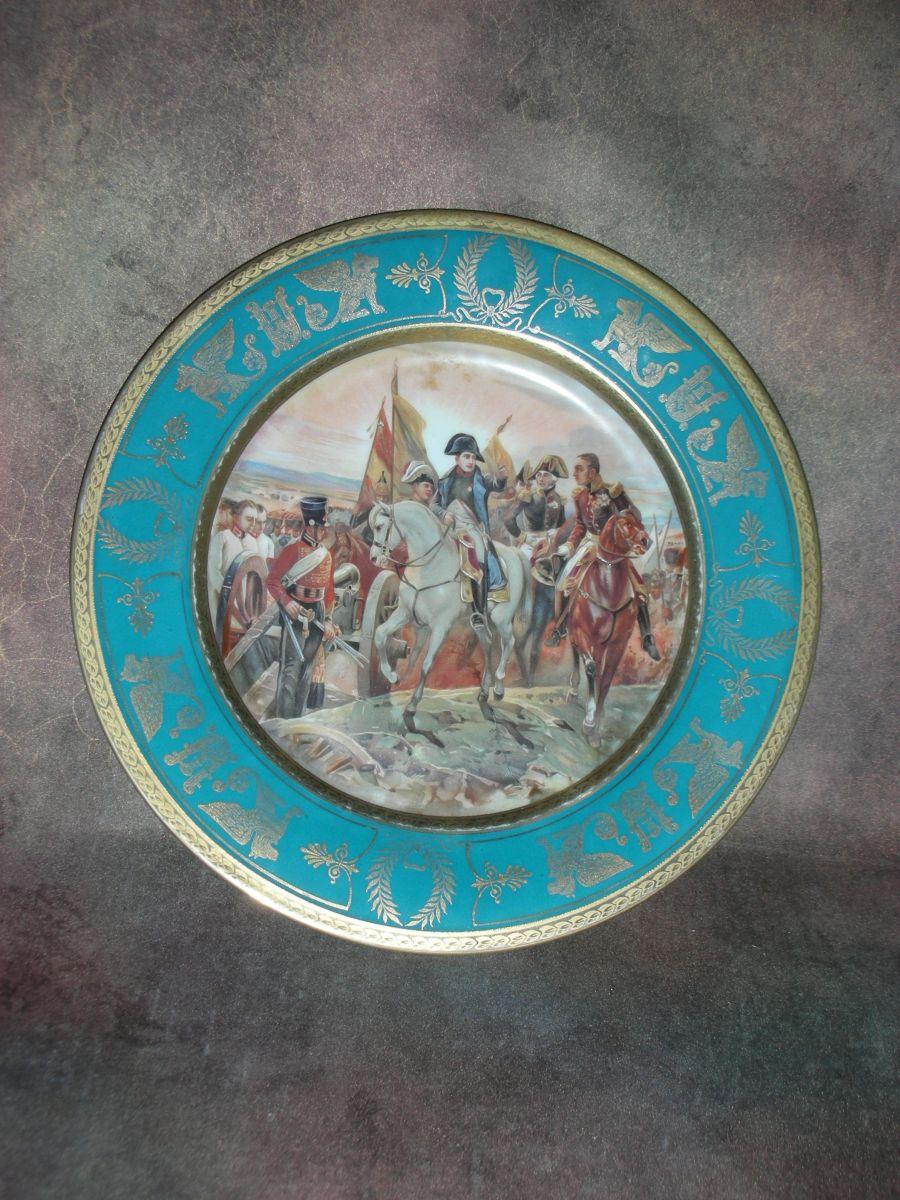 «Тарелка декоративная «Сражение под Фридландом»