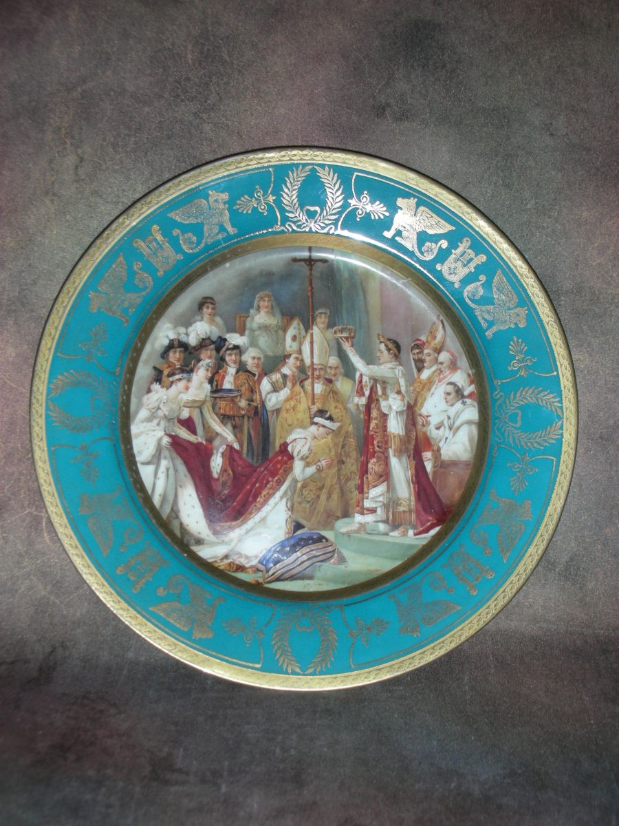 «Тарелка декоративная «Коронация Наполеона»