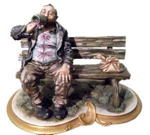 «Бродяга-выпивоха», бисквит. Студия I.P.A.