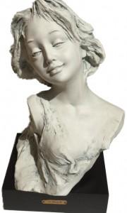 «Бюст девушки», бисквит. Скульптор Джованни Барбетта.